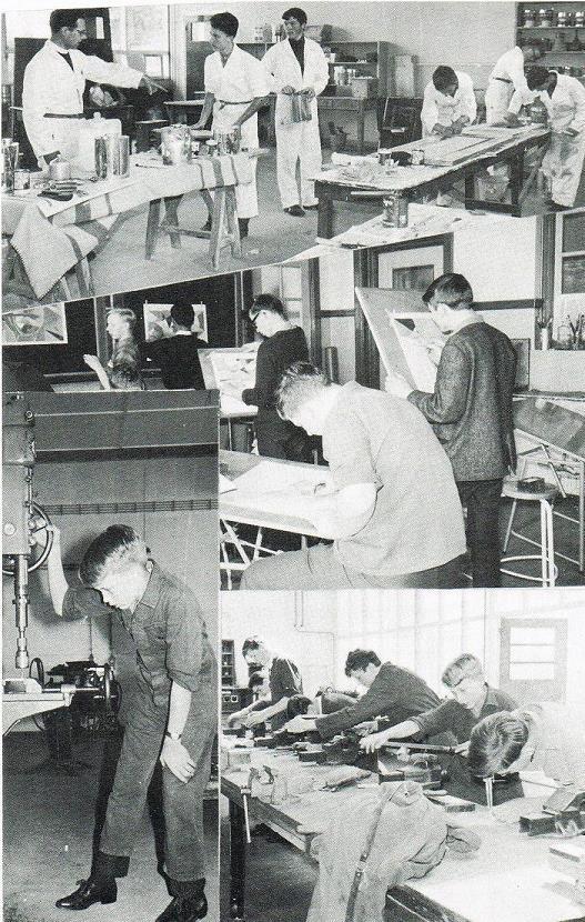 """uit het Schoolblad """"Team"""" juni 1966"""