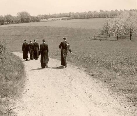 op 8 mei 1963 van Meerssen richting Berg en Terblijt naar Margraten