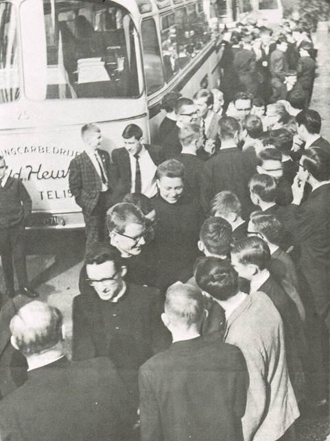 Tegenbezoek 'Oirschot aan Schimmert' 26 april 1964