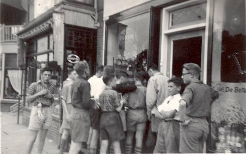 Grote wandeling 1954