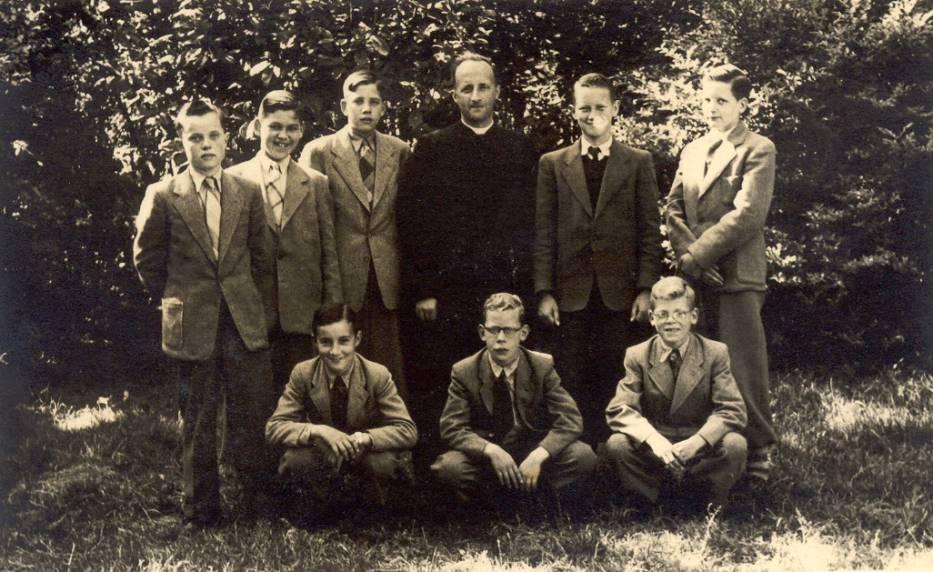 1e klas zomer 1955 Haagsche Schouw