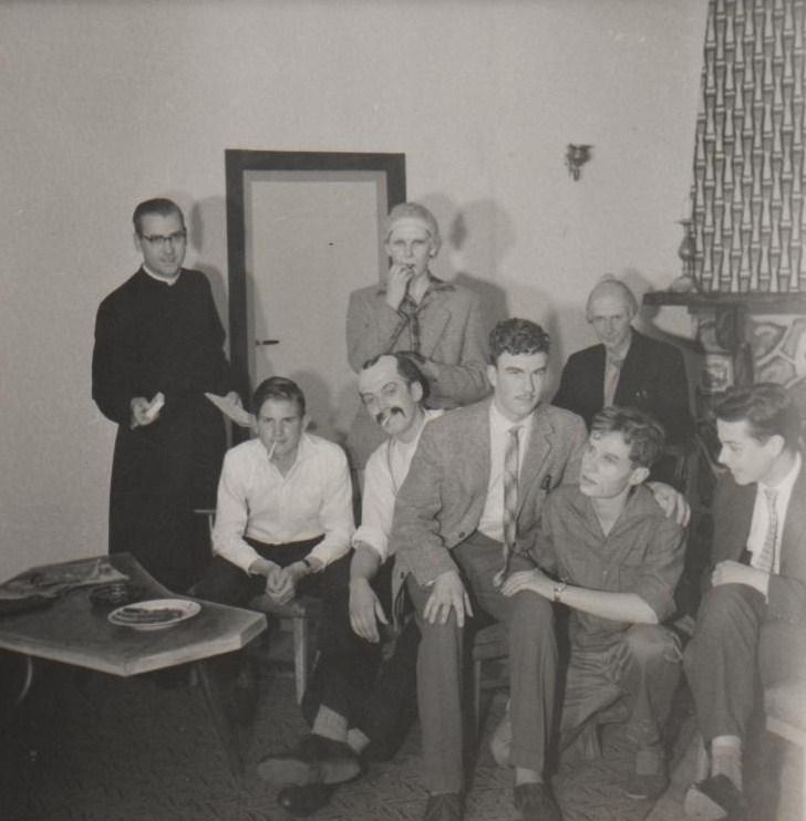 Een deel van de crew van Potasch en Perlemoer