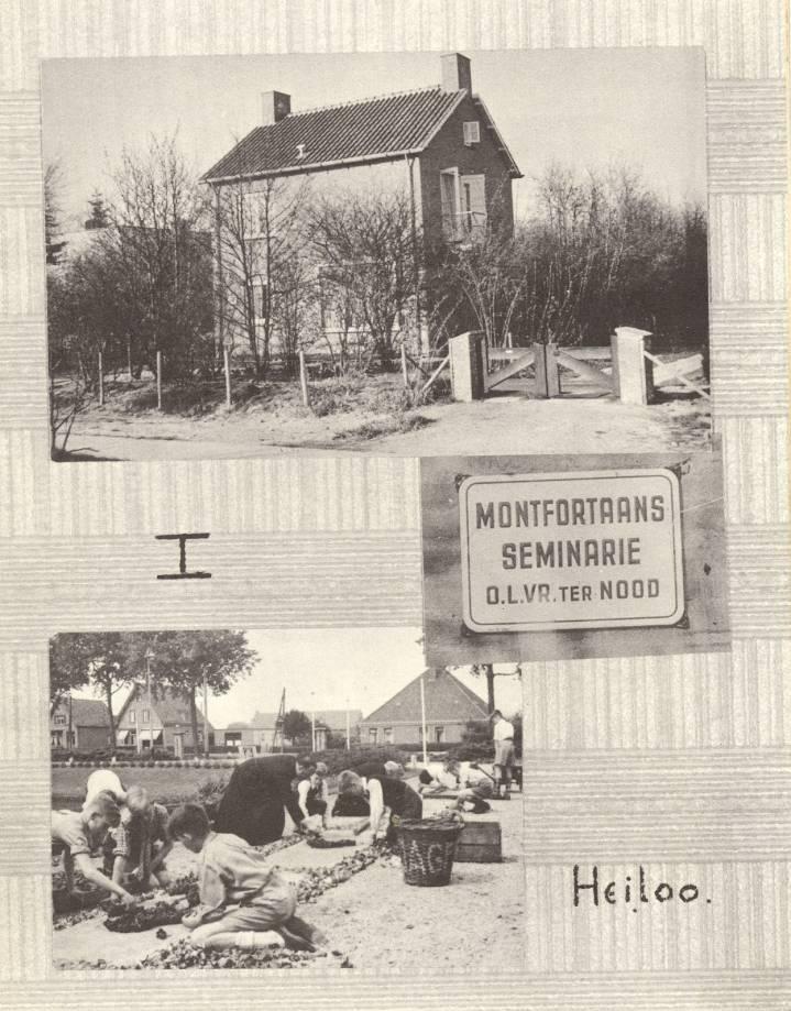 De fotopagina in het herdenkingsnummer van de Harpoen van juni 1965