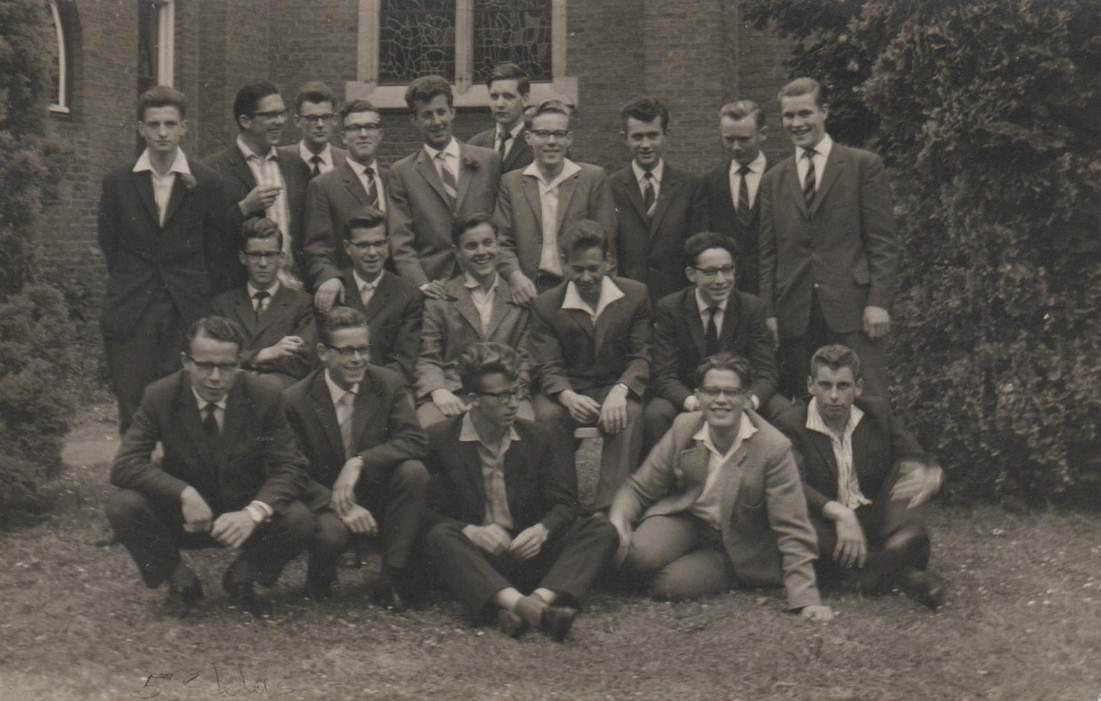 Klassefoto juli 1961 – 5e klas