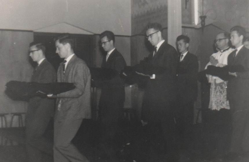 Inkleding juli 1962 – 6e klas