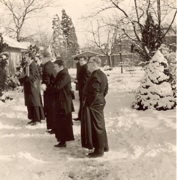 Achter het noviciaat – februari 1963