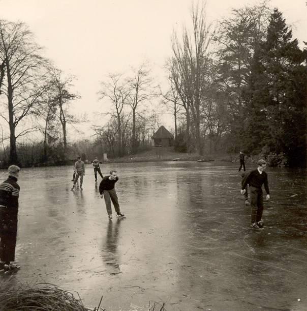Op 't ijs te Vaas-Hartelt – eind 1962