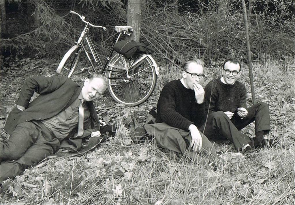 Zomer van 1966 fietstocht naar het Oorlogsmuseum in Overloon (nu Liberty Park)