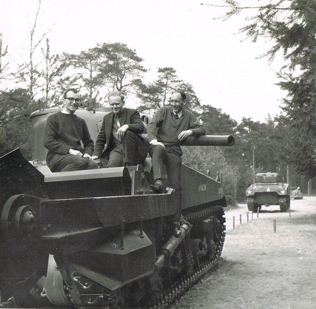 Piet Loonen, Frans Roefs en Ed Faes,