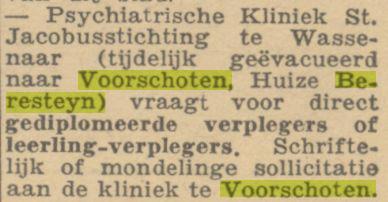 Het Binnenhof 30-06-1945
