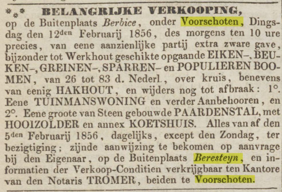 Opregte Haarlemsche Courant 09-02-1856