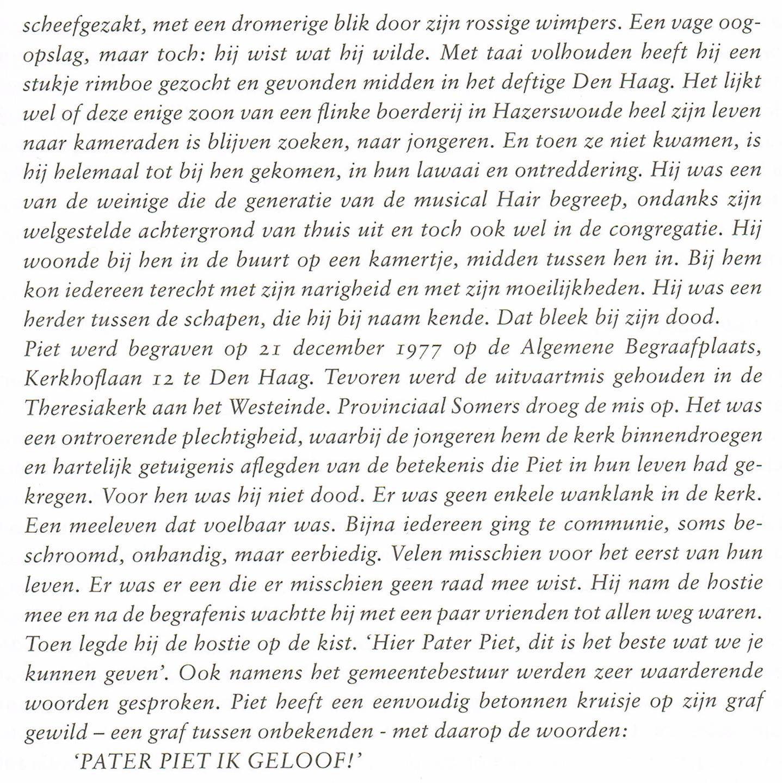 vervolg Piet Lommerse